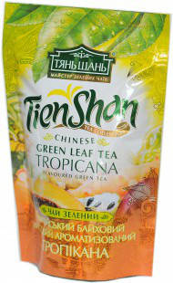 Чай зеленый китайский байховый Тропикана  Тянь Шань , 80 гр, фото 2