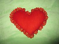 Подушка сердце 35 см