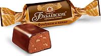 Бабаевские конфеты  с фундуком и какао в шоколадной глазури (концерн ,, Бабаевский,,)