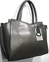 Женская кожаная сумка Galanty 253 серый женские сумки из натуральной кожи купить  недорого в Одессе d963af58aaf