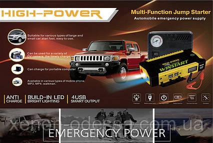 Зарядно-Пусковое устройство для автомобилей и гаджетов / Jump Starter POWER Bank, фото 2