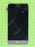 Дисплей Samsung Galaxy J1 2016 J120F с сенсором, TFT матрица Копия ААА Золотистый