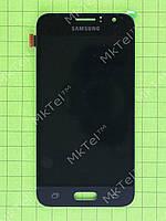 Дисплей Samsung Galaxy J1 2016 J120F с сенсором, TFT матрица Копия ААА Черный