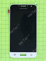 Дисплей Samsung Galaxy J1 2016 J120F с сенсором, TFT матрица, белый copyAAA