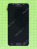 Дисплей Samsung Galaxy J7 2016 J710F с сенсором, TFT матрица Копия ААА Черный
