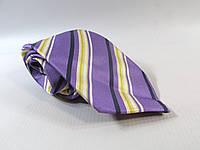 Галстук DUETZ фиолетовый 8 см, хорошее состояние , шелк,  Как Новый!