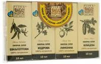"Набор для сауны ""Русская баня"" Flora Secret (oil/10ml + oil/10ml + oil/10ml + oil/10ml)"