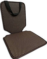 Защитный коврик под детское автокресло, коричневый. Детские автокресла, аксессуары