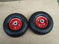 Колеса к тележке пневматические с двумя подшипниками размер 4.00-4 (Цена за пару), фото 1