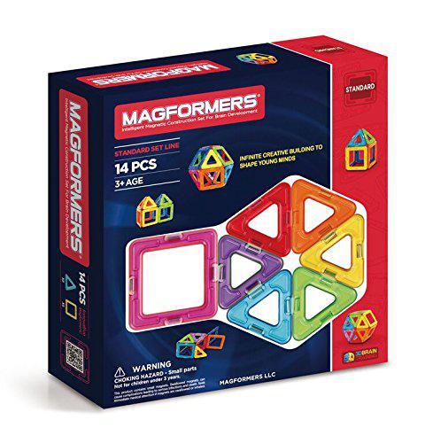 Магнитный конструктор Магформерс на 14 деталей Magformers Standard 701003