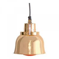 Лампа алюминивая подвесная для подогрева пищи с лампочкой, медная