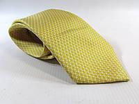 Галстук TIE RACK желтый 8 см, шелк,   Как Новый!