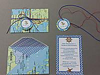 Пригласительный ручной работы в конверте, фото 1