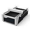 COMPACT B1325 130х250см. Планшетный CO2 лазерной станок резки и гравировки.