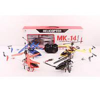 Вертолет 33014K  р/у2,4G,аккум,35см,свет,гироскоп,3,5канала,USBзарядн,4цв,в кор,56,5-22,5-3см