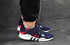 Кросівки чоловічі Adidas Equipment,сині з червоним 42,44 р, фото 3