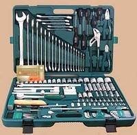 Универсальный набор автомобильных инструментов JONNESWAY 128 предметов S04H524128S