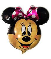 Воздушный шарик из пленки Мини Маус голова 60 х 65 см.