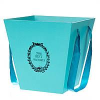 Коробка для цветов 0314J/green