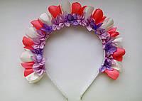 """Ободок для волос """"Весенние цветы"""""""