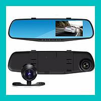 Зеркало с видеорегистратором и двумя камерами DVR T605 HD!Акция