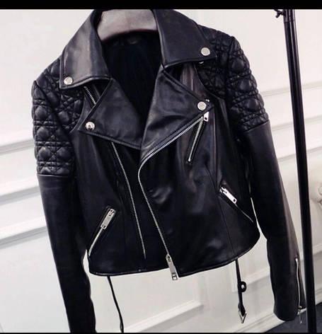 Женская куртка натуральная кожа, фото 2