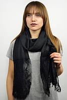 Легкий черный шарф