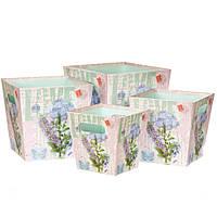 Комплект коробок для упаковки 4 шт 0303J/mint
