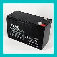 Аккумулятор BATTERY 12V 7A UKC!Акция
