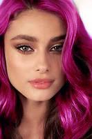Спрей - яркие розовые локоны