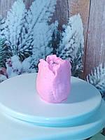 Мыло розовый ТЮЛЬПАН, ручная работа