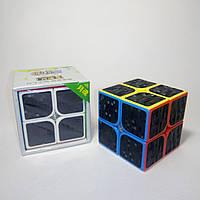 Головоломка Кубик Рубика 2х2 KungFu Yuehun Carbon