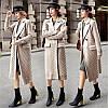 Женское пальто шерсть с добавкой
