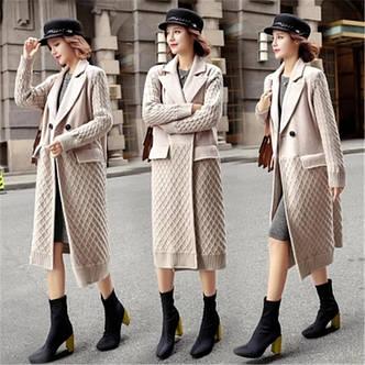 Женское пальто шерсть с добавкой, фото 2