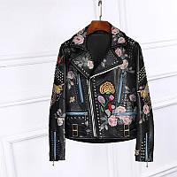 Женская куртка  Итальянский кож зам копия Gucci