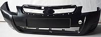 Бампер ВАЗ 21704 (Приора) передний без отверстий под туманки Ристайлинг (АвтоВаз)