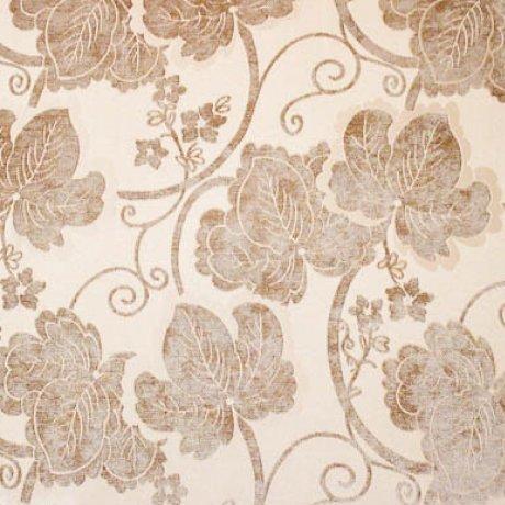 Ткань шенилл Шайн Flower Gold
