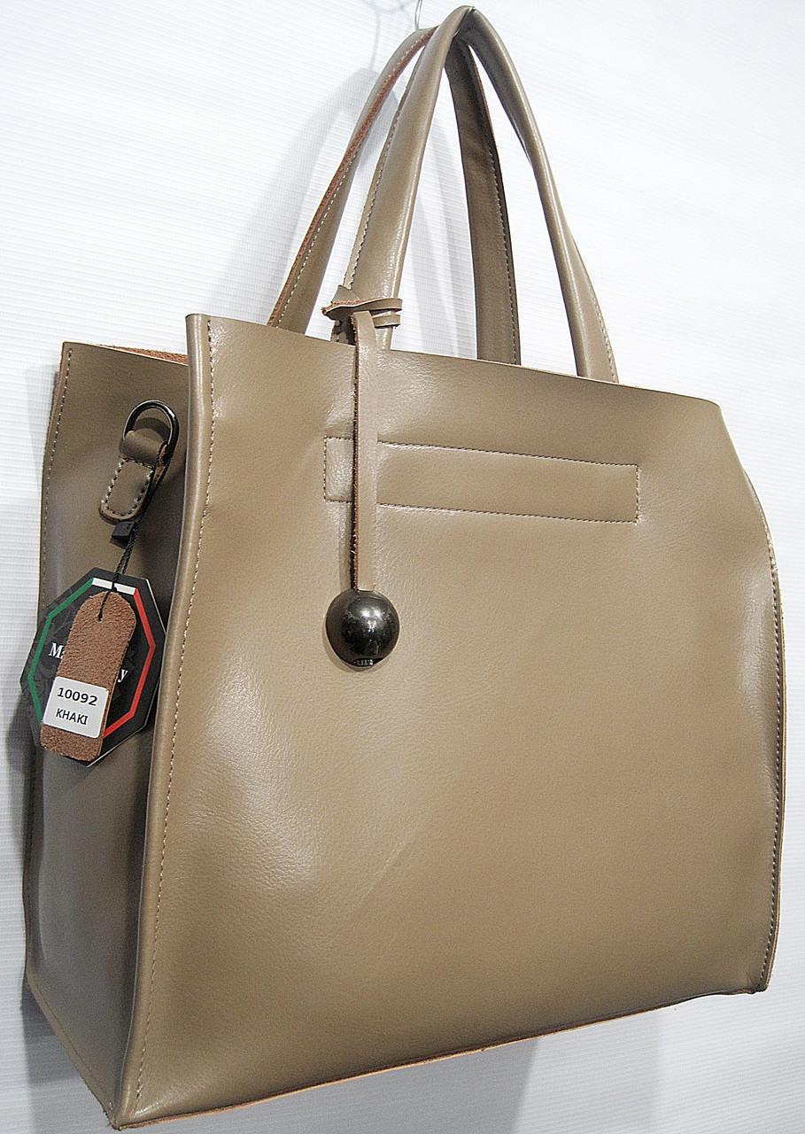 5ea39a412e2f купить женская кожаная сумка Galanty 10092 хаки женские сумки из