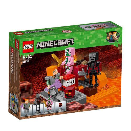 37f64e645 Lego Minecraft Битва у Нижньому світі 21139: продажа, цена в Вінниці.  конструктори от