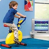 """Велотренажер """"Малявка+"""" (+ игровая приставка с 1 игровой консолью)"""