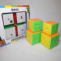 """Набор цветных кубиков Рубика MF """"2+3+4+5"""" от MoYu"""