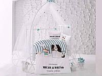 """Детский комплект постельного белья в кроватку ARAN CLASY """"Bruno"""""""