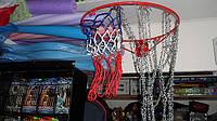 Сетка баскетбольная антивандальная металлическая  12 петель