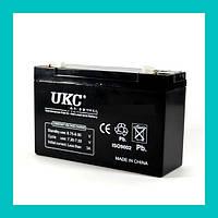 Аккумулятор BATTERY 6V 10A UKC