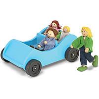 """Игровой набор """"Дорожная машинка с куклами""""  Melissa&Doug (MD2463)"""