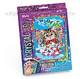 Алмазная мозаика (детская серия) Котик (CArt-01-04), фото 2