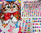 Алмазная мозаика (детская серия) Котик (CArt-01-04), фото 5