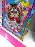 Алмазная мозаика (детская серия) Котик (CArt-01-04), фото 7