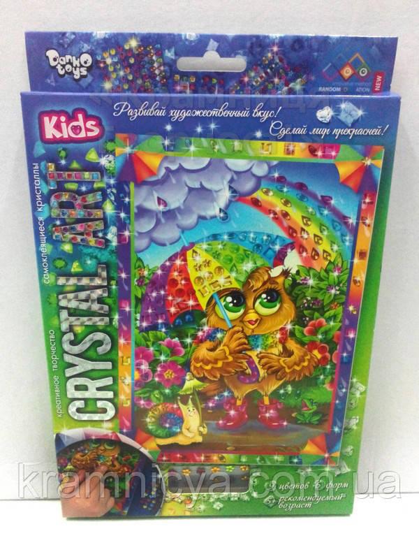 Алмазная мозаика (детская серия) Сова (CArt-01-10)