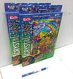 Алмазная мозаика (детская серия) Сова (CArt-01-10), фото 3